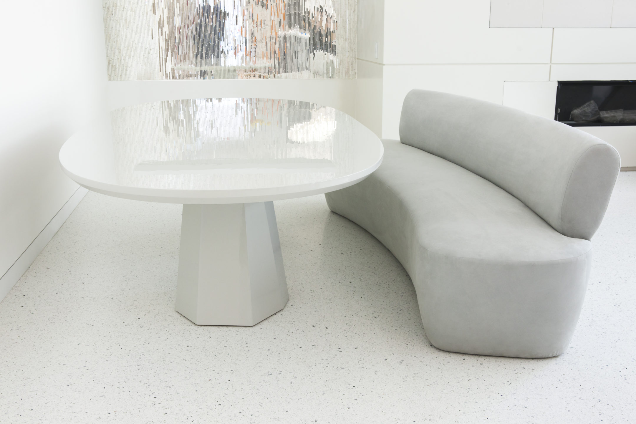 Studio_William_Hefner_products_Lombard_Banquette_Donze_Breakfast Nook_Table and Couch